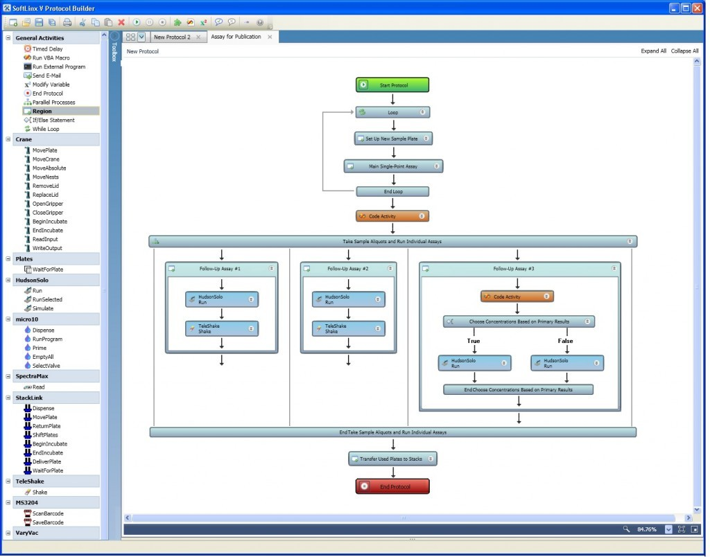 SoftLinx Lab Automation Software