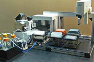 Buffer/Reagent/media Dispenser, Automated Pipettor & DNA estraction tool